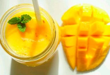 Batido de frutas, un snack saludable, fácil y delicioso