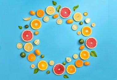 Variedad de frutas para un desayuno balanceado