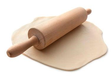 Rodillo y masa para galletitas fáciles