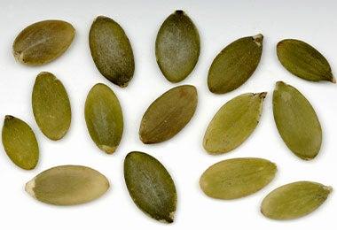 Semillas de calabaza para snacks salados