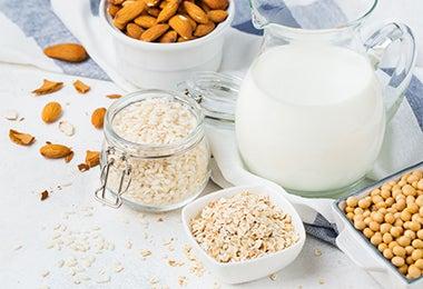 Desayuno con cereales y quinoa