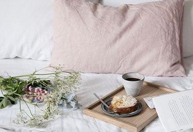 Desayuno sorpresa en la cama