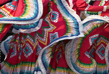 Vestidos típicos mexicanos