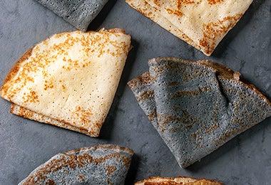 Tortillas para desayuno mexicano